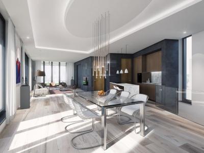 Innenraumperspektive Penthouse