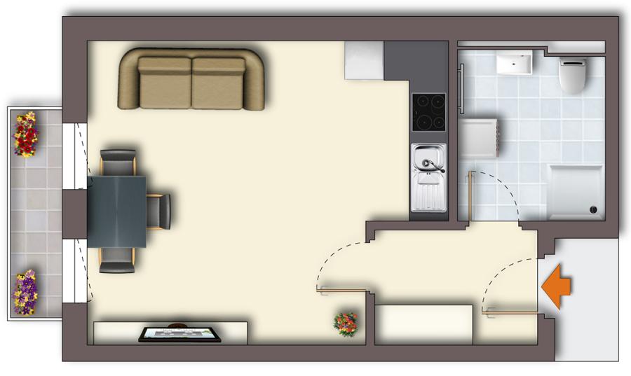Wohnung Zwenkau